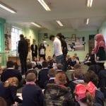 Team 3 and Team 4 visit the Durham Islamic Society